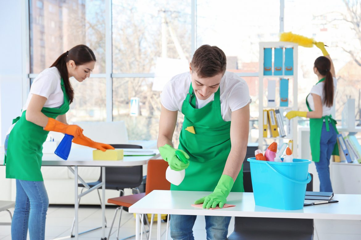 What makes cleaning services so important for offices?
